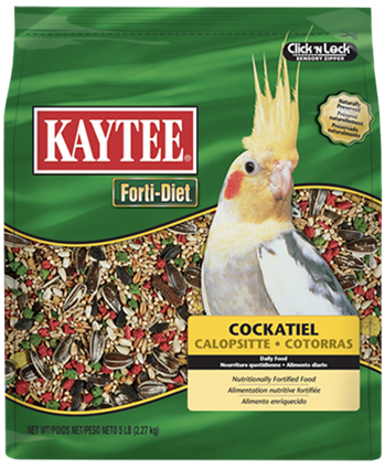 Forti-Diet Cockatiel Food