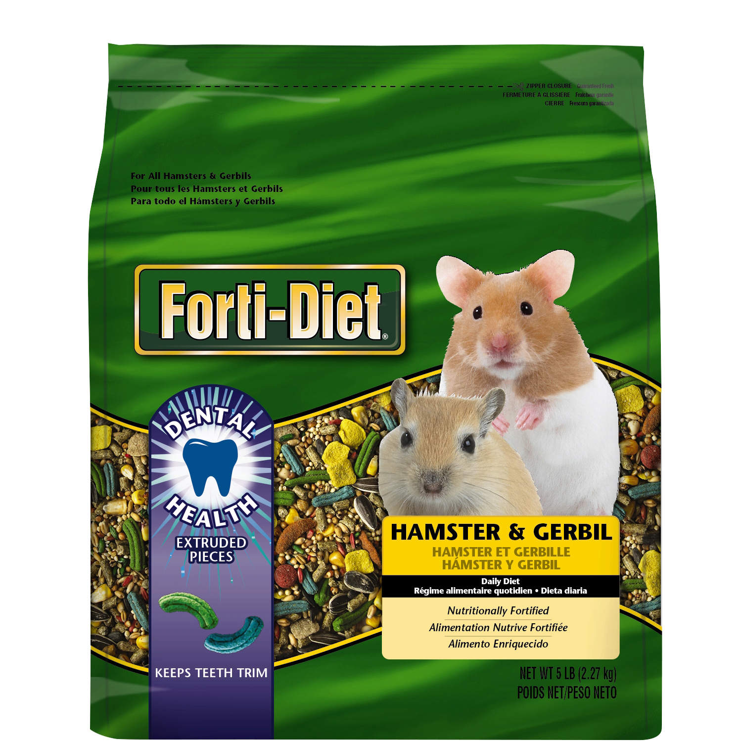Alimentation Hamster dental hamster and gerbil food | forti-diet