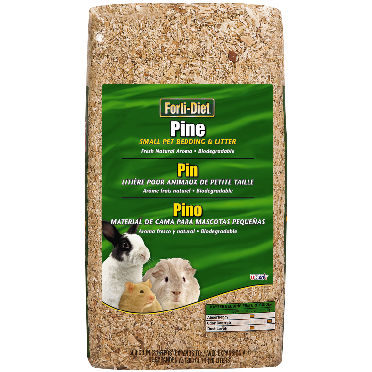 Pine Bedding for Small Pets by Forti-Diet
